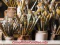 Como Limpiar Un Pincel Después de Pintar Con Oleo