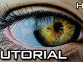 Cómo Dibujar un Ojo Realista Paso a Paso con Lápices de Colores