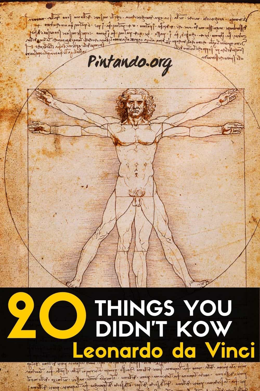20 Things You Didn't Know About Leonardo da Vinci-min