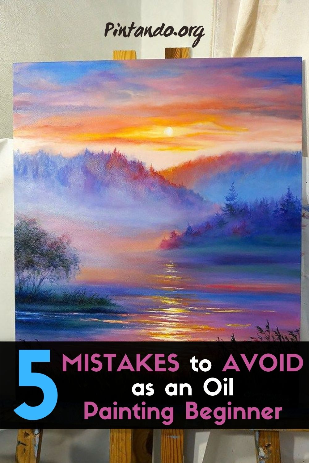 5 MISTAKES to AVOID as an Oil Painting Beginner (1)