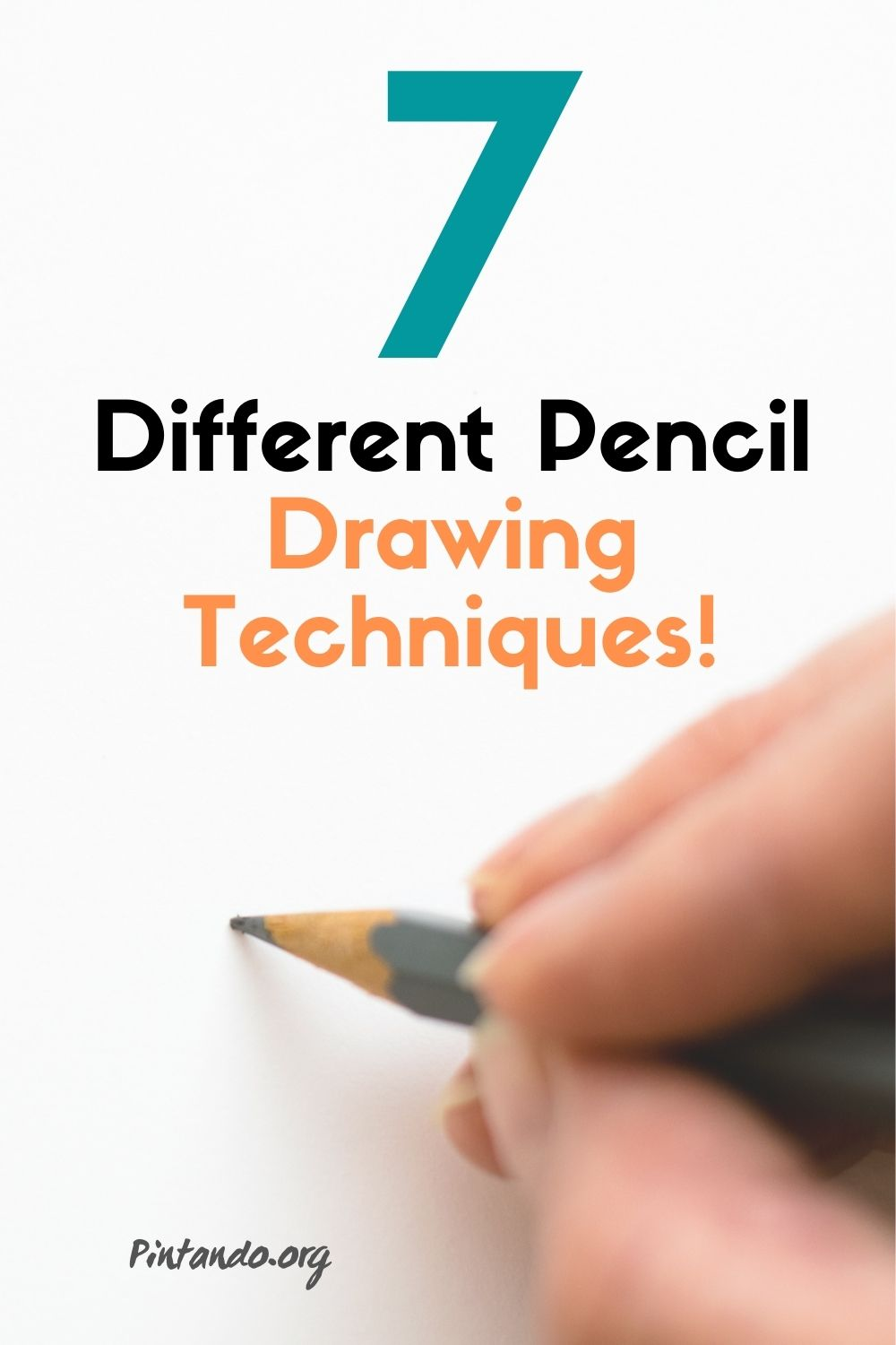 Different Pencil Drawing Techniques!