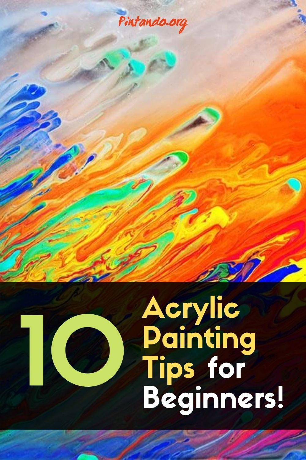 Acrylic Painting Tips for Beginners!