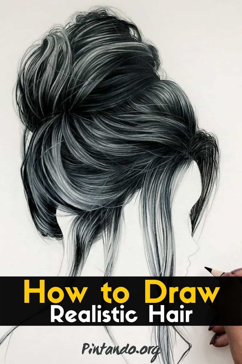How to Draw Realistic Hair! (1)-min