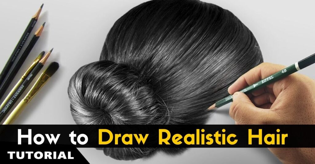 How to Draw Realistic Hair!