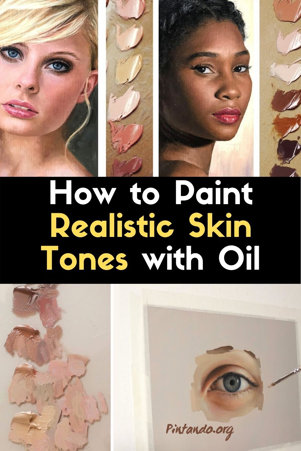 How to Paint Realistic Skin Tones with Oil