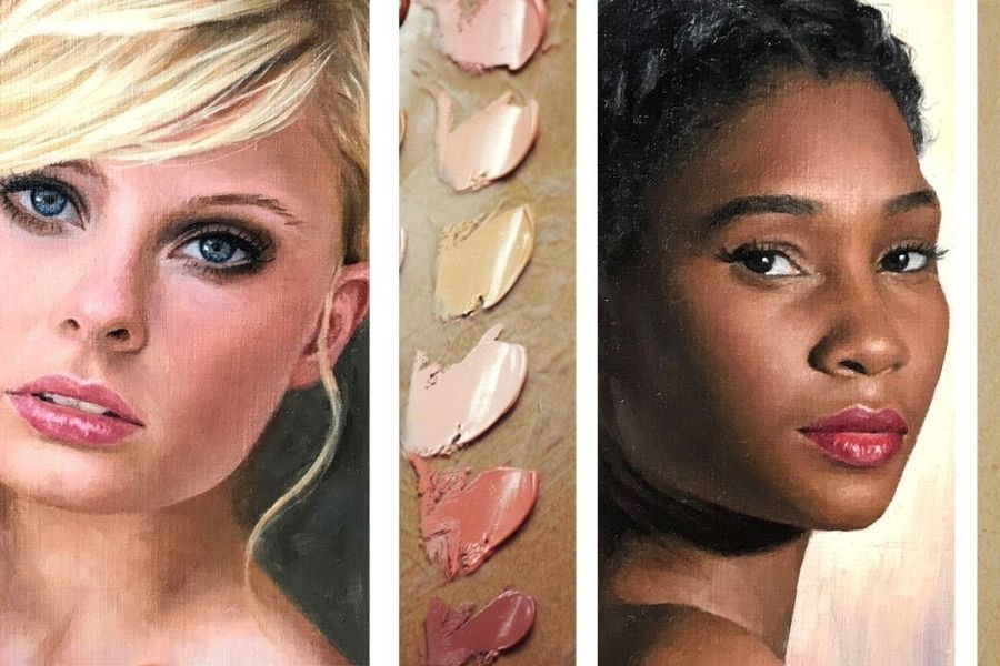 How to Paint Realistic Skin Tones