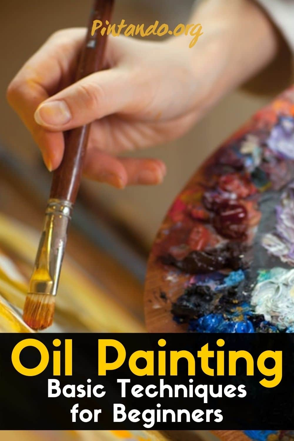 Oil Painting for Beginners - Basic Techniques + Step by Step Demonstratio-min