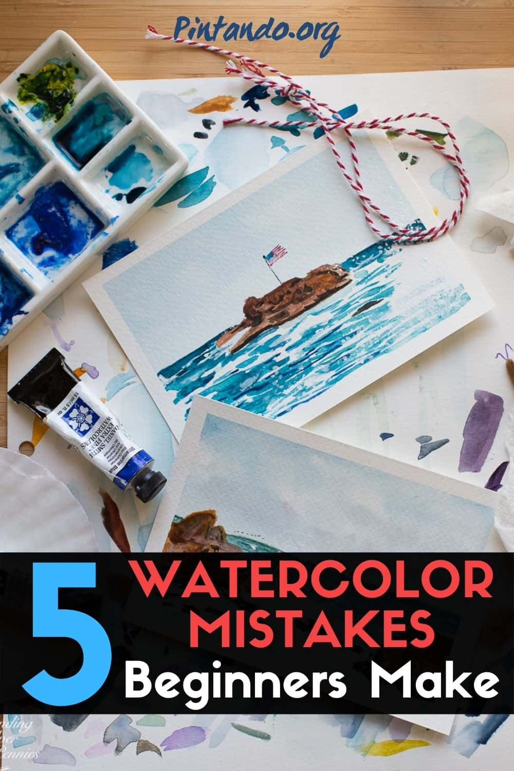 TOP 5 WATERCOLOR MISTAKES Beginners Make (1)-min