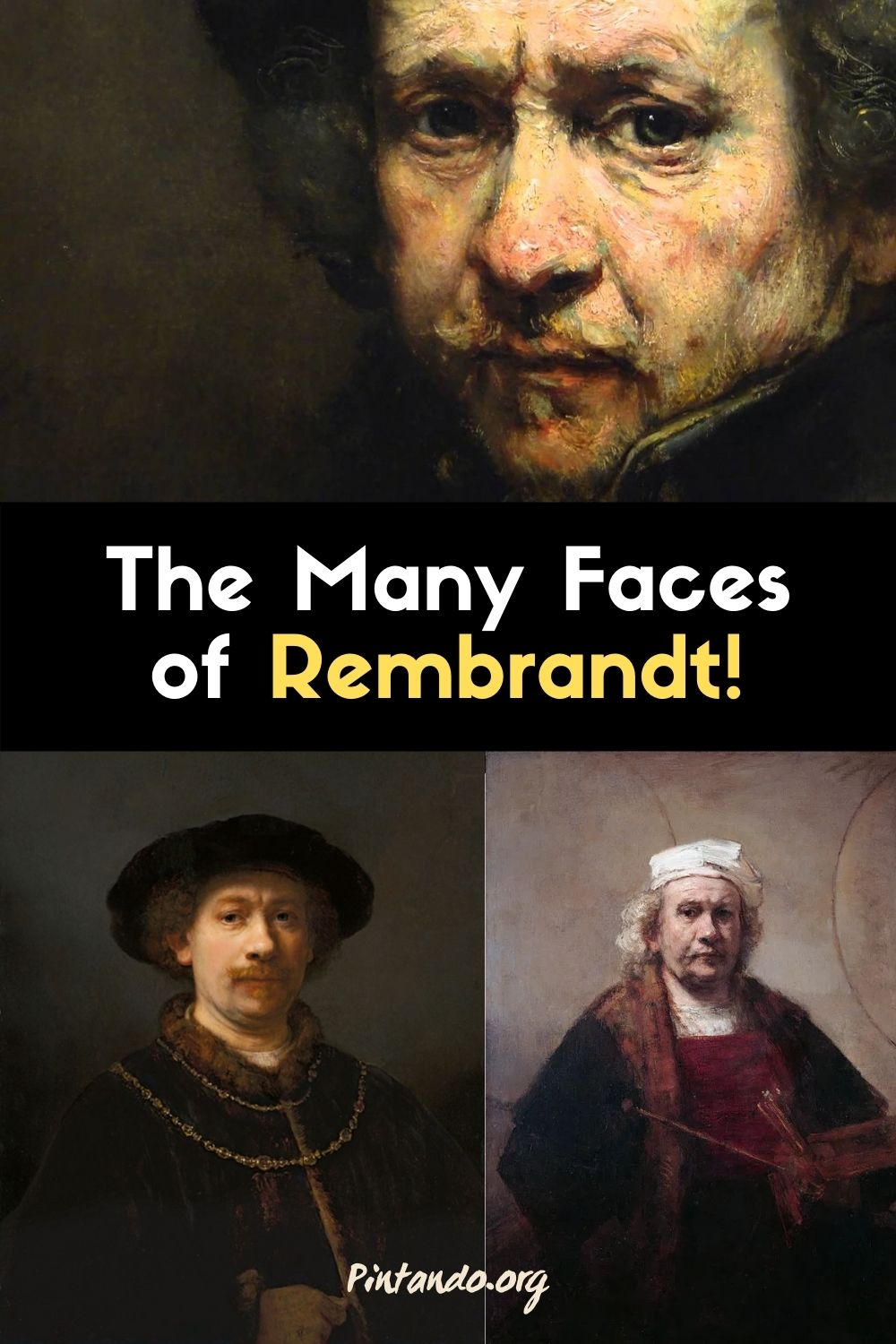 The Many Faces of Rembrandt!