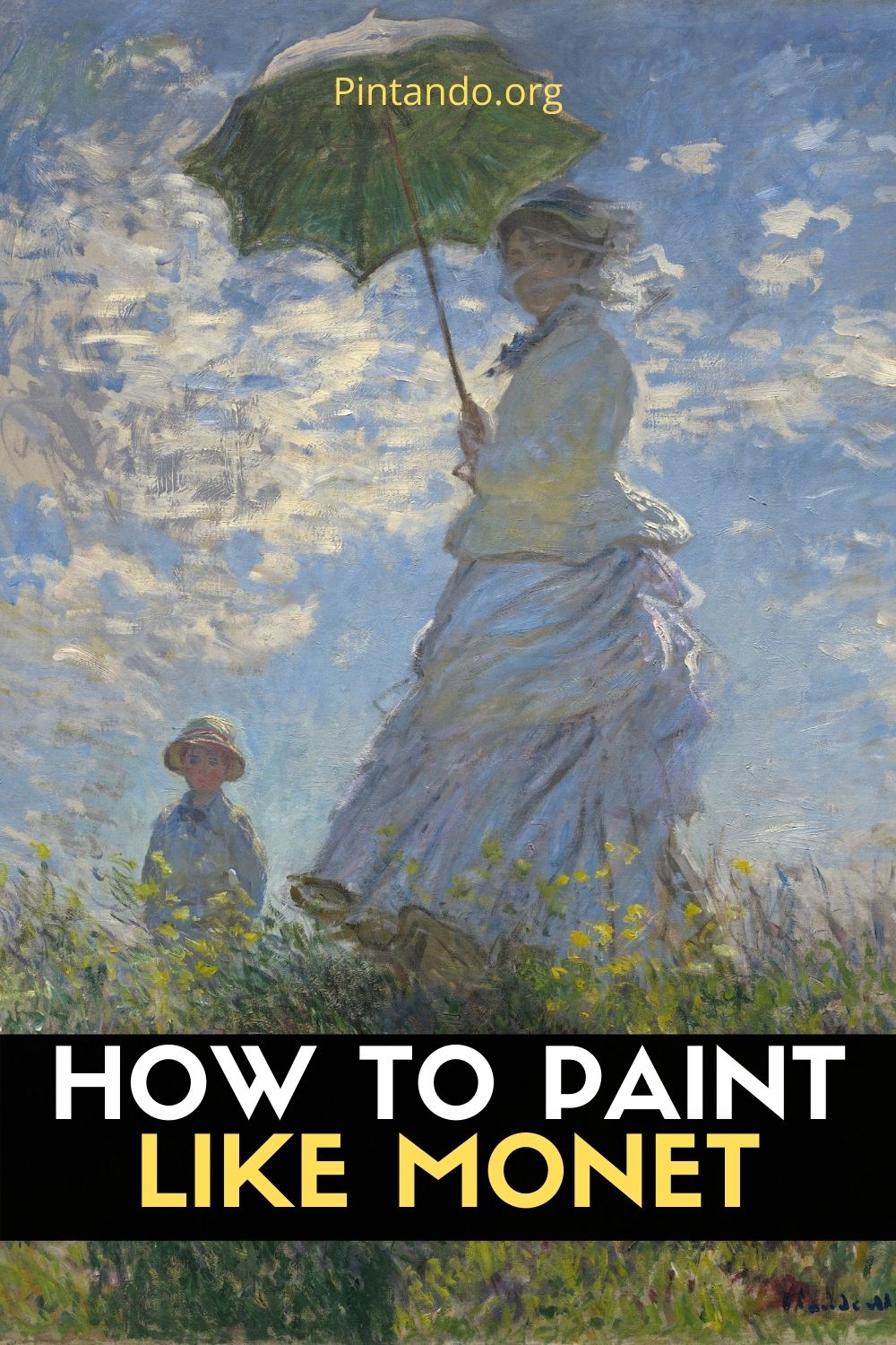 HOW TO PAINT LIKE MONET (3)