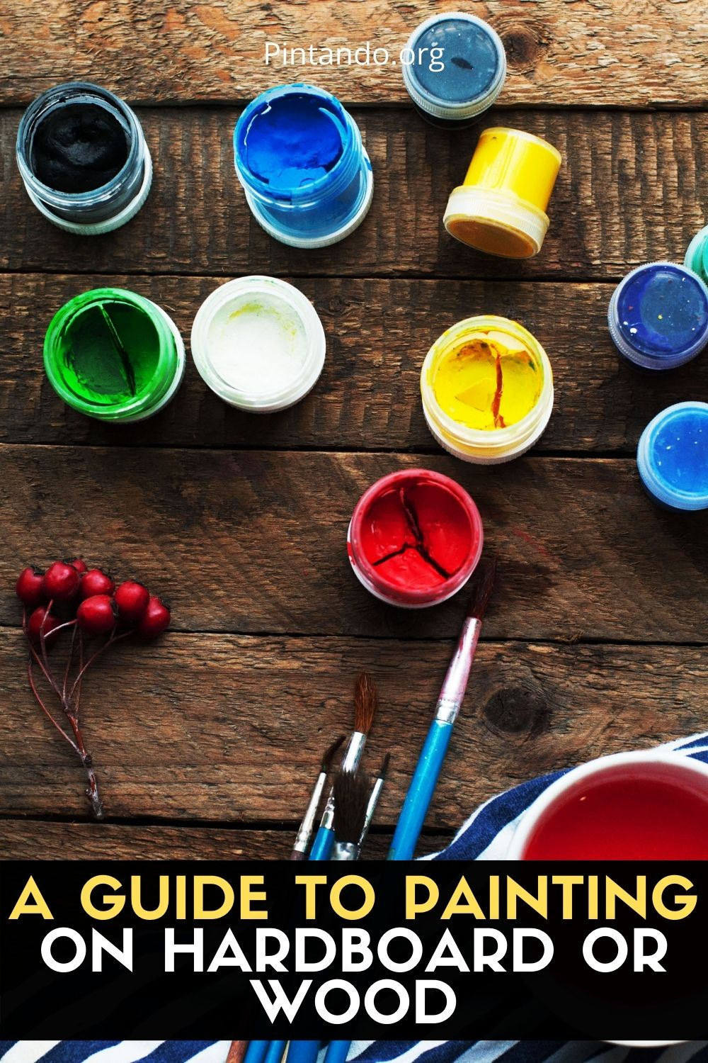 A GUIDE TO PAINTING ON HARDBOARD OR WOOD (2)