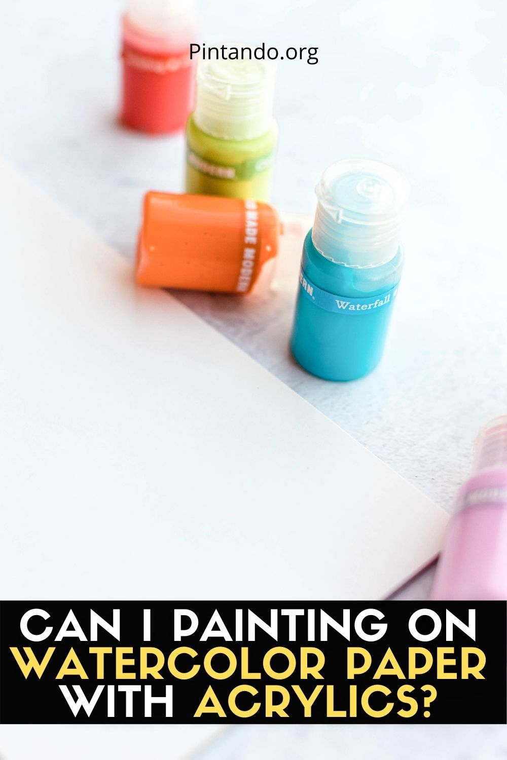 CAN I PAINTING ON WATERCOLOR PAPER WITH ACRYLICS