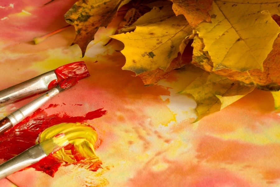 DIY FALL PAINTING FOR BEGINNERS (2)