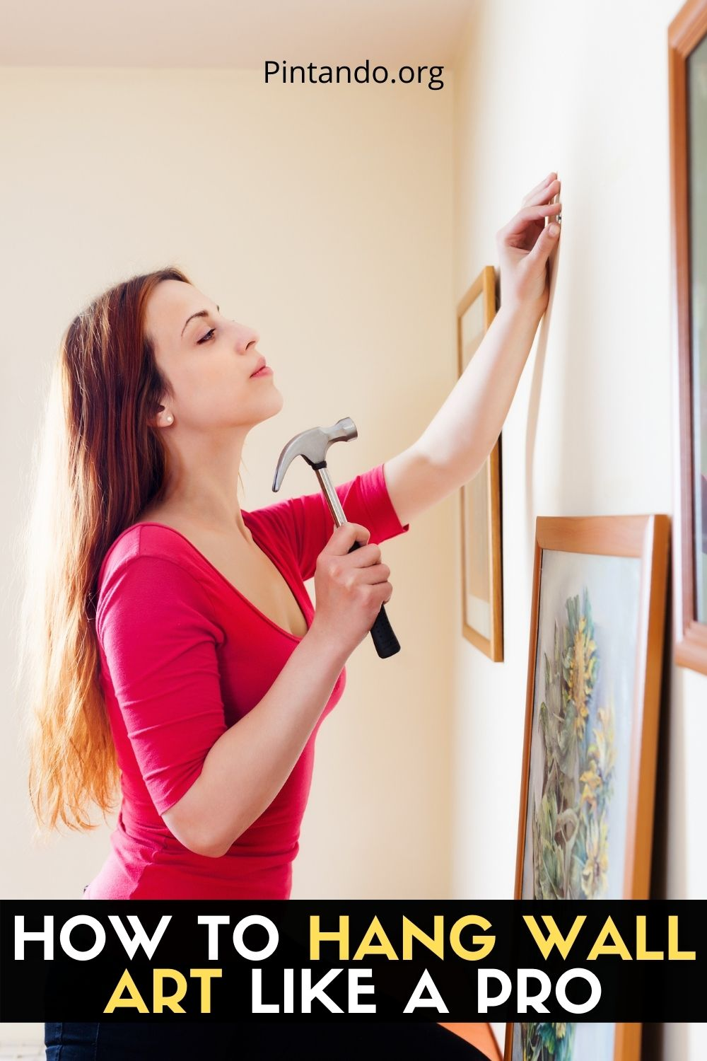 HOW TO HANG WALL ART LIKE A PRO