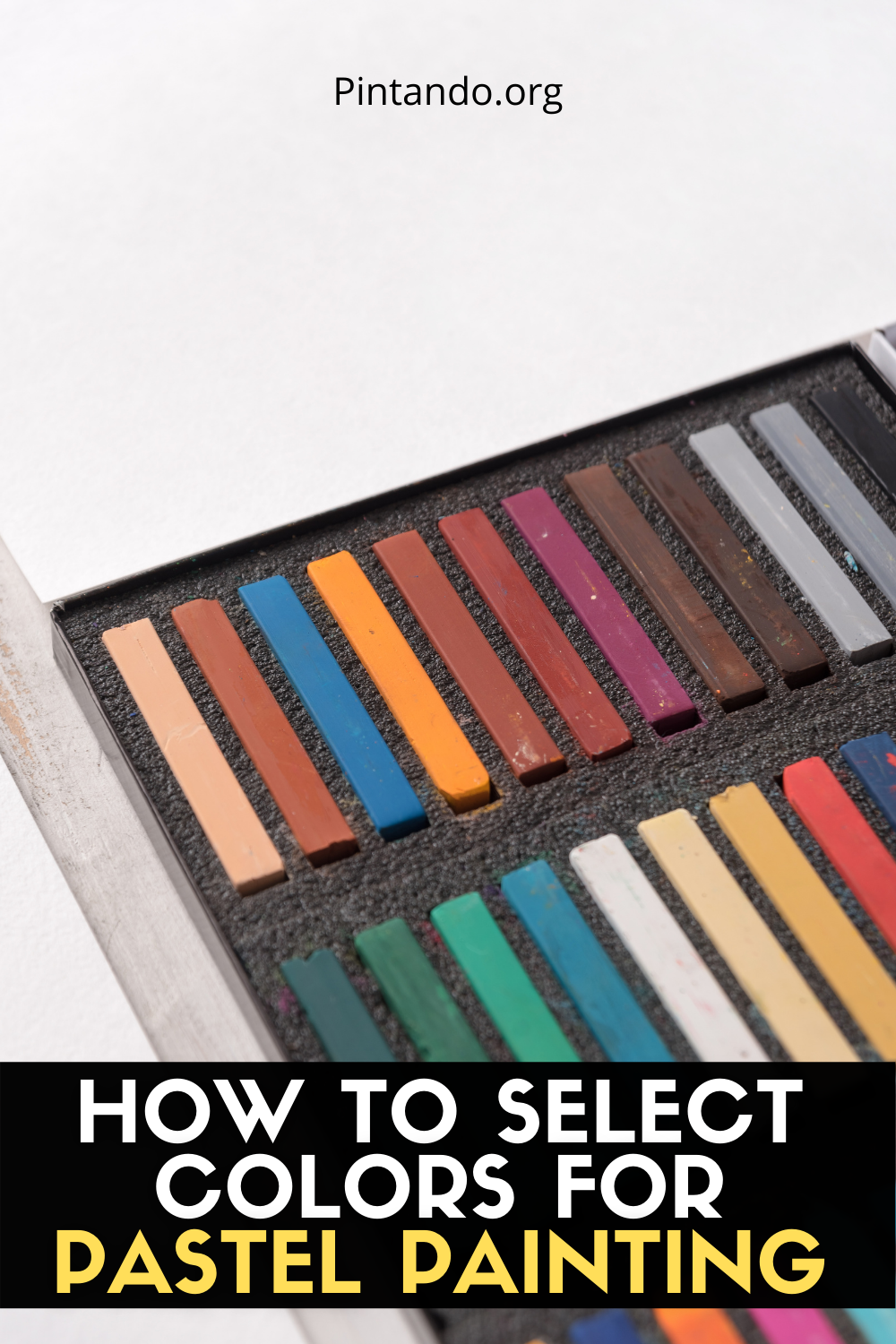 HOW TO SELECT COLORS FOR PASTEL PAINTING