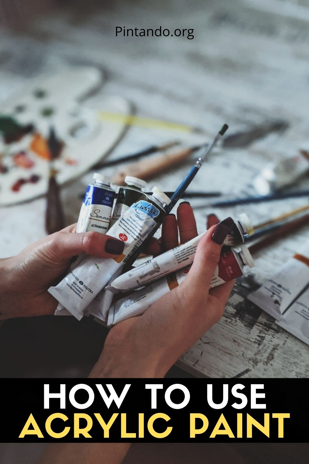 HOW TO USE ACRYLIC PAINT (2)
