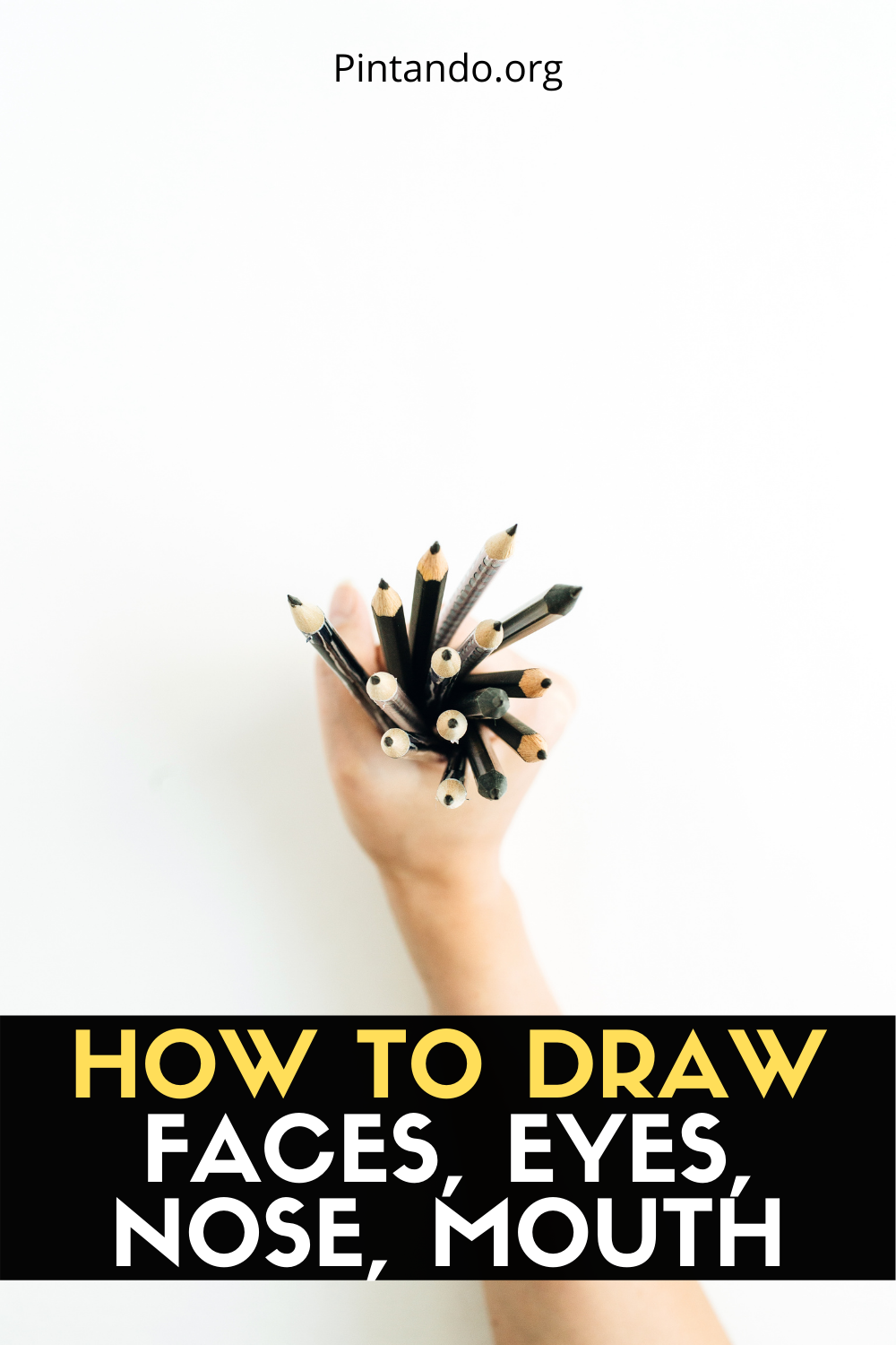 HOW TO DRAW FACES, EYES, NOSE, MOUTH