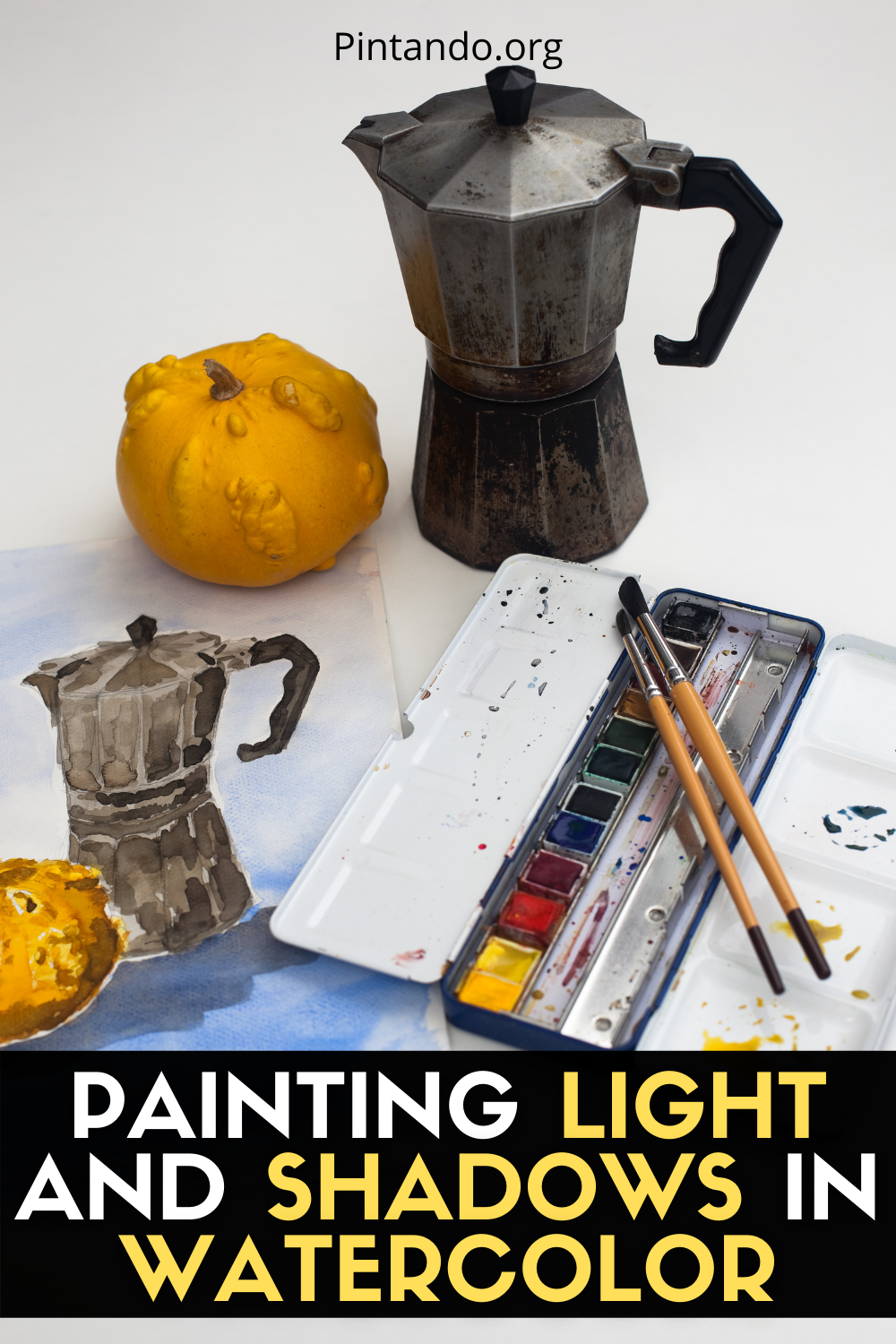 PAINTING LIGHT AND SHADOWS IN WATERCOLOR (1)