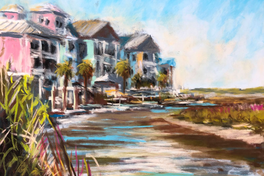 PLEIN AIR PAINTING WITH PASTELS (1)