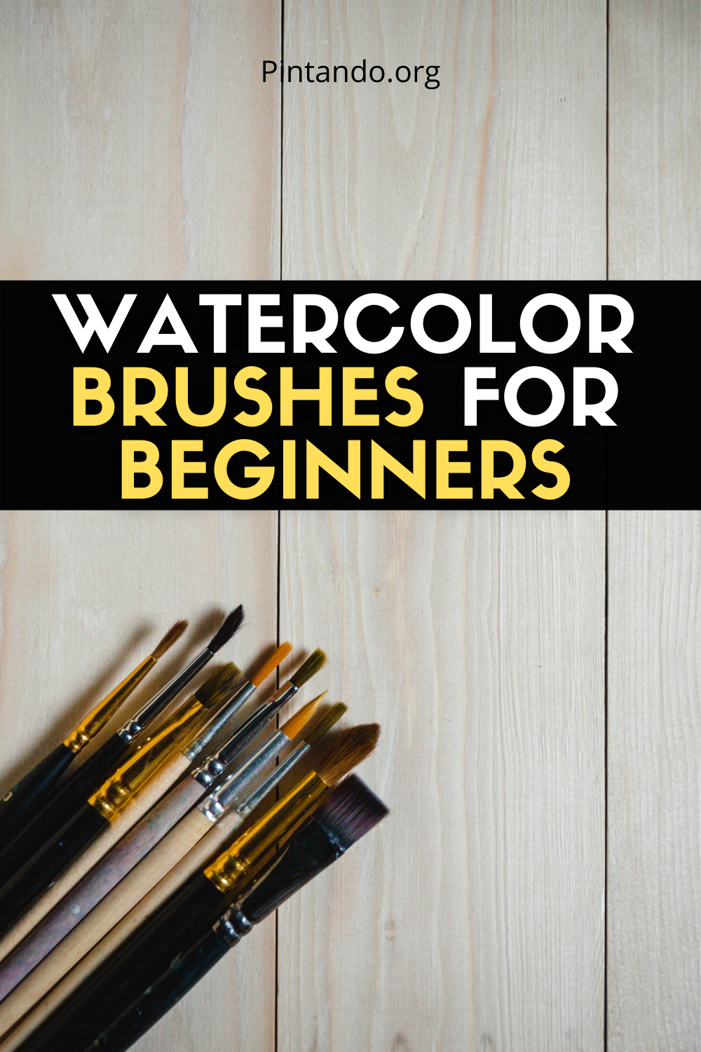 WATERCOLOR BRUSHES FOR BEGINNERS (2)
