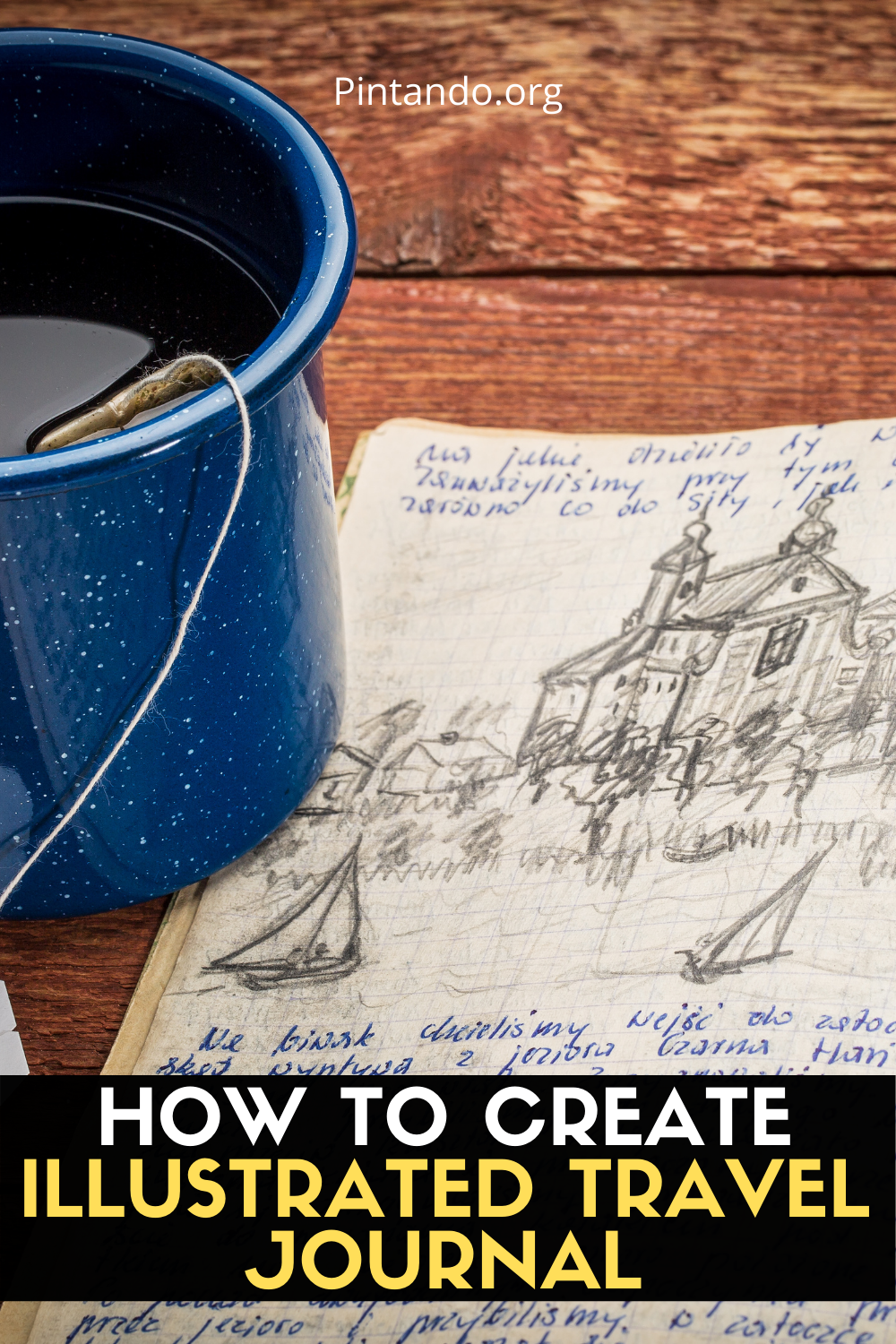 HOW TO CREATE ILLUSTRATED TRAVEL JOURNAL (1)