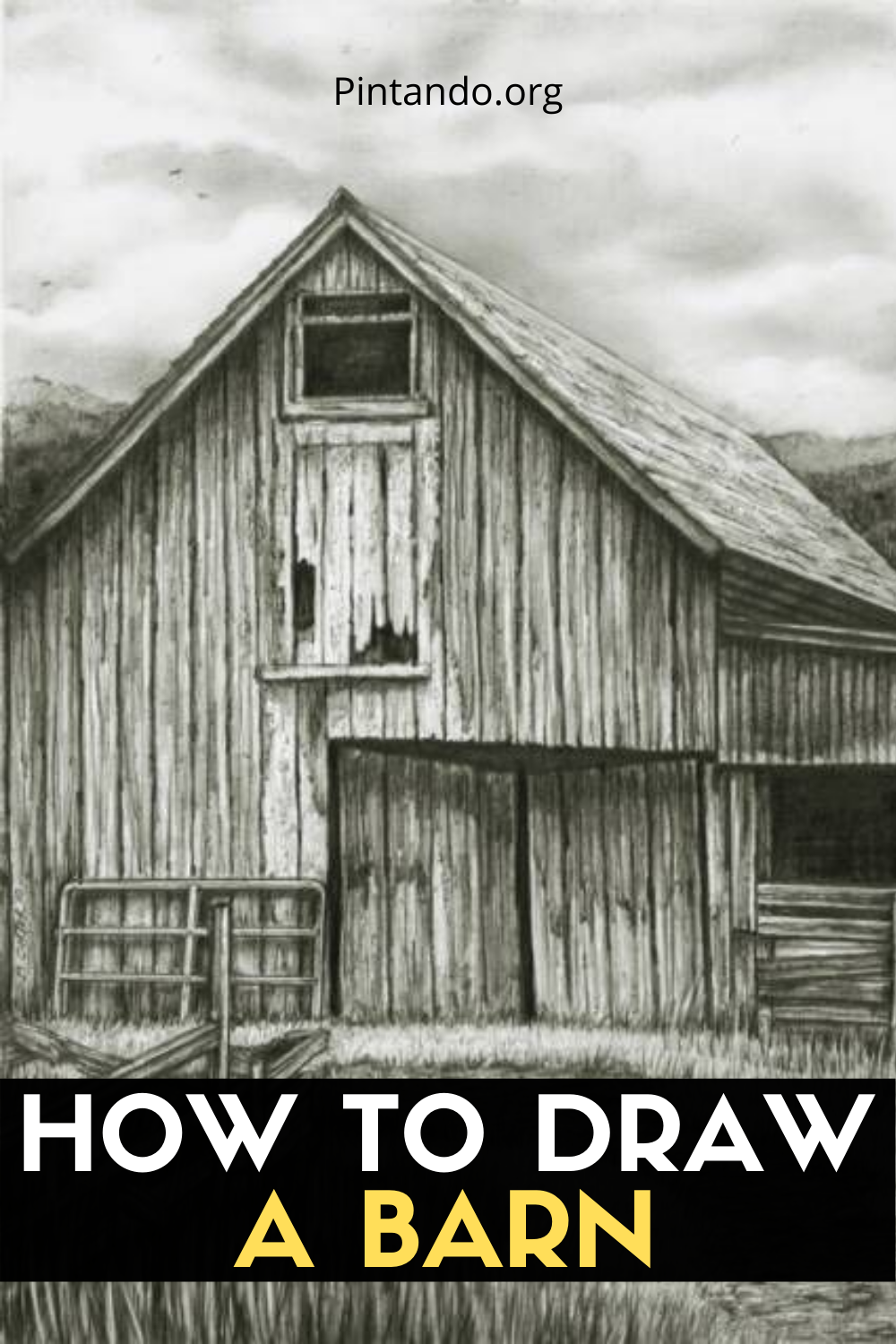 HOW TO DRAW A BARN (1)