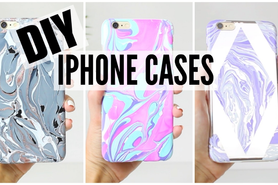 HOW TO PAINT A PHONE CASE 1