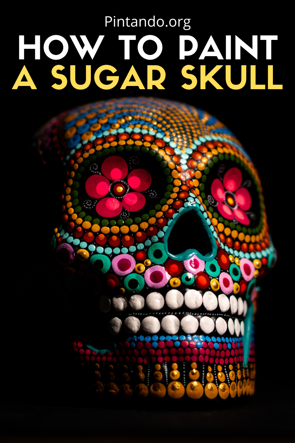 HOW TO PAINT A SUGAR SKULL (1)