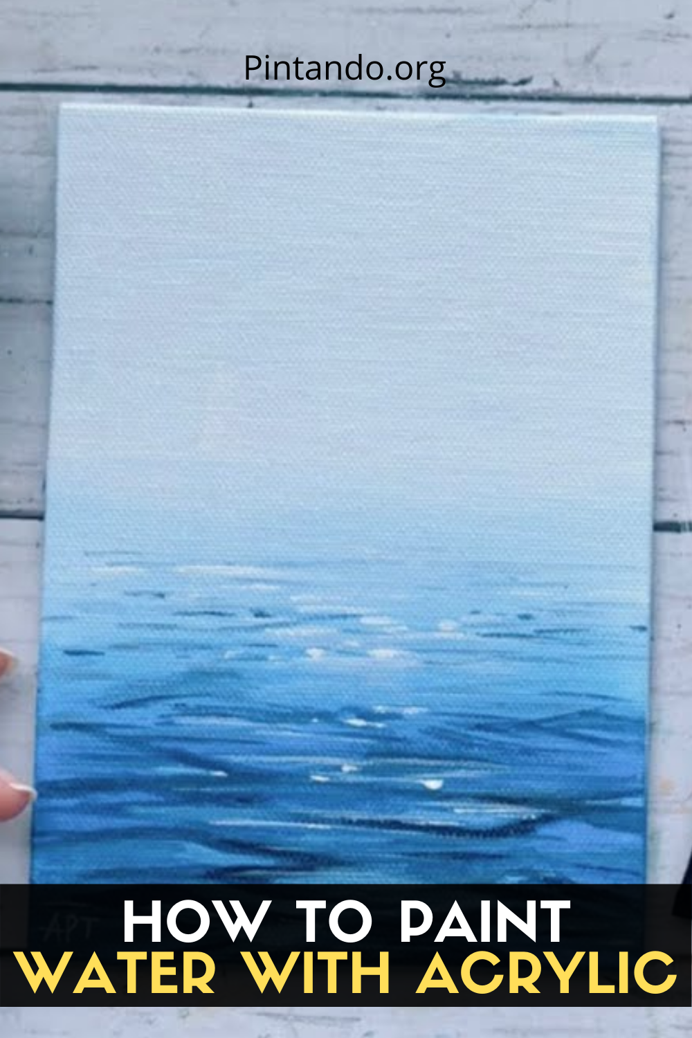 HOW TO PAINT WATER WITH ACRYLIC (1)