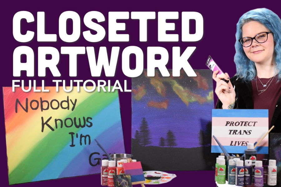 LEARN HOW TO HIDE YOUR PRIDE IN PAINTINGS
